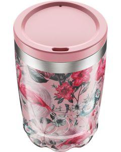 Copo de Café Térmica Chillys-230ml-Tropical Flamingo