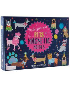 Paisagens Magnéticas com 50 Ímans   Cães e Gatos
