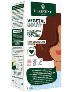 Coloração Capilar Vegetal em Pó com Plantas Ayurvédicas - Hot Chocolate Power