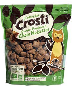 Almofadinhas - Cereais com Chocolate com Recheio de Avelãs Biológico