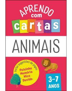 Baralhos Pedagógicos : Animais 3-7 Anos
