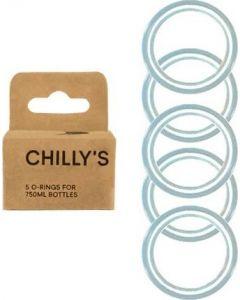 Anéis de Silicone para Garrafas Chillys | Pack 5
