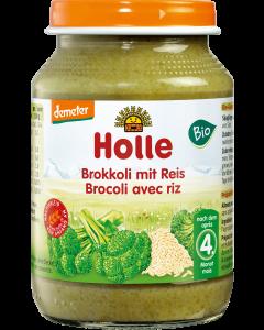 Boião Biológico de Puré Bróculos com Arroz