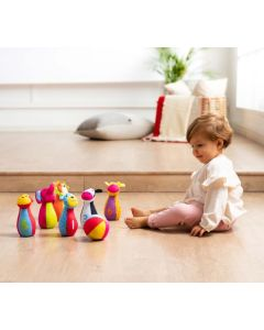 Bowling de Bebé em Tecido
