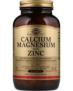 Suplemento de Cálcio, Magnésio e Zinco