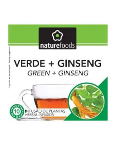 Chá Verde e Ginseng