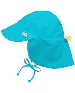 Chapéu com Proteção Solar 50+ com Proteção de Nuca Aqua