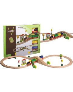 Conjunto Comboio e Pista | 30 Peças