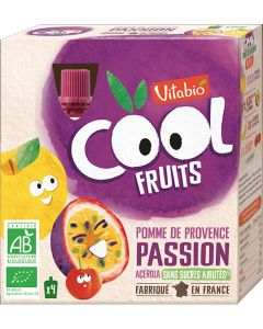 Pack 4 Cool Fruits Bio Maçã Maracujá e Acerola