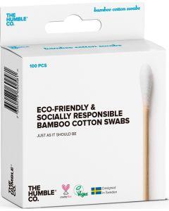 100 Cotonetes em Bambú e Algodão