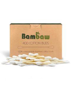 Cotonetes em Bambú e Algodão