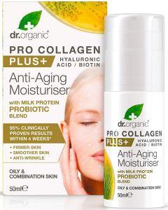 Creme Facial Antienvelhecimento com Colagénio e Ácido Hialurónico