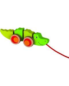 Crocodilo Divertido de Puxar