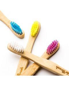 escova dentes bambú criança zero waste humble
