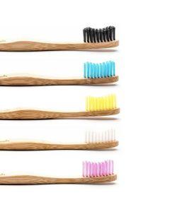 Escova de Dentes em Bambú  Adulto - Macia