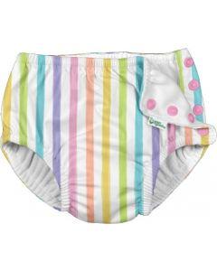 Fraldas de Natação para Praia e Piscina Rainbow Stripes