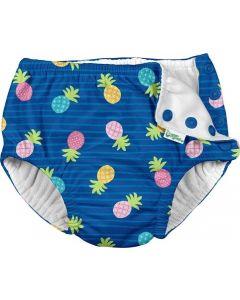 Fraldas de Natação para Praia e Piscina Blue Pineapple