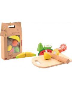 Vegetais e Frutos para Cortar