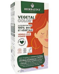 Coloração Capilar Vegetal em Pó com Plantas Ayurvédicas _Henna Love Power