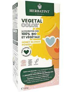 Coloração Capilar Vegetal em Pó com Plantas Ayurvédicas - Honey Blonde Power
