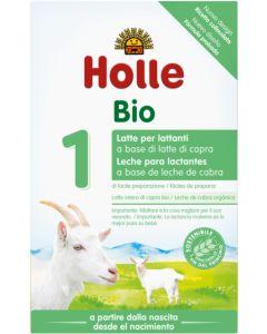Leite para lactentes biológico 1 à base de leite de Cabra Holle