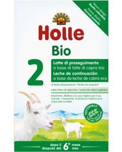 Leite de transição biológico 2 à base de leite de Cabra Holle