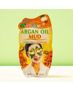 Máscara de Óleo de Argão para Pele Oleosa e Mista