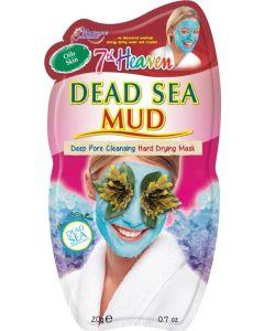 Máscara de Lama de Sal do Mar Morto Para Limpeza Profunda dos Poros
