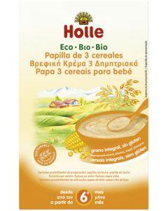 Papa 3 Cereais Biológico  Holle