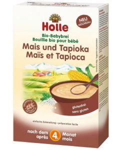 Papa de Cereais Biológica Milho e Tapioca Holle