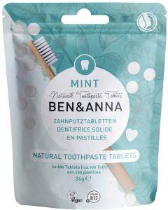 pastilhas dentífricas ben anna