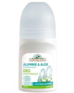Desodorizante com Pedra de Alúmen e Aloe Vera