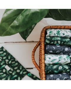 Pack 2 Pensos Reutilizáveis em Carvão de Bambú | L