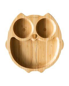 Prato em Bambú com Ventosa Mocho