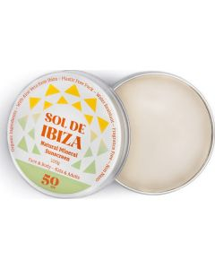 Protetor Solar Natural Sol De Ibiza SPF 50