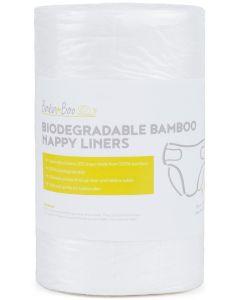 Rolo de 100 Revestimentos Biodegradáveis de Bambú Bababoo