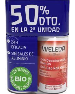 Desodorizante Roll-On de Romã| Pack 2