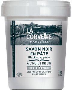 Pasta de sabão Preto | Com óleo de Linhaça