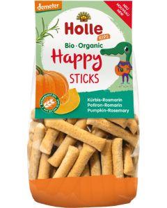 Snack de Trigo com Abóbora e Alecrim Biológicos - Happy Sticks