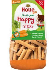 Snack de Trigo Espelta com Cenoura e Funcho Biológicos - Happy Sticks