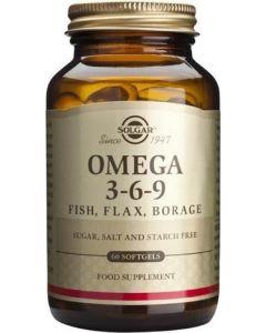 Suplemento de Omega 3-6-9