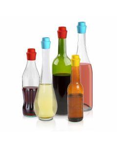 Tampas Reutilizáveis de Silicone para Garrafas | Pack 3