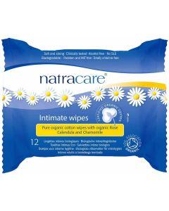 12 Toalhitas em algodão para higiene íntima