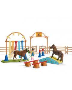 Treino de Agilidade de Cavalos