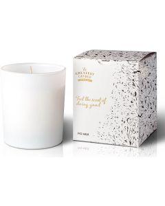 Velas Ecológicas Perfumadas Vidro Branco