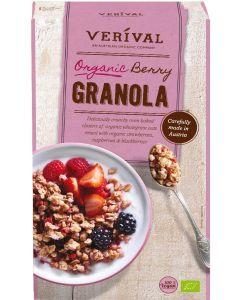 Granola Crocante com Frutos Vermelhos Bio - Crunchy