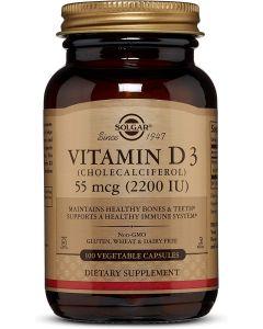 Vitamina D3 55 mcg  (2200 UI)