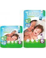 Fraldas Ecológicas Tidoo 4L+ (9-20 Kg)