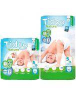 Fraldas Ecológicas Tidoo 5XL (12-25Kg)