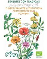 Sementes de Flores de Primavera Portuguesa